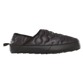c5de90092a Pantoufles Femme North Face Thermoball Traction Mule IV - Shiny TNF Black  Beluga Grey