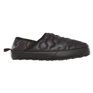 North Face Thermoball Traction Mule IV Slippers - Shiny TNF Black Beluga Grey