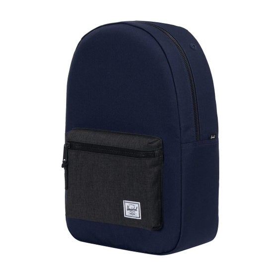 c24cdd49cfb Herschel Settlement Backpack - Peacoat black Crosshatch