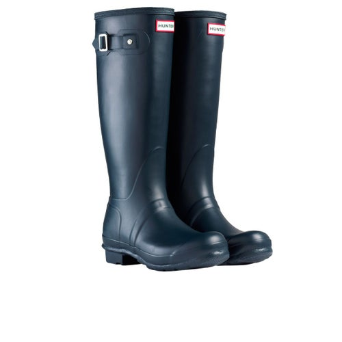 Hunter Womens Original Tall Wellies - Navy