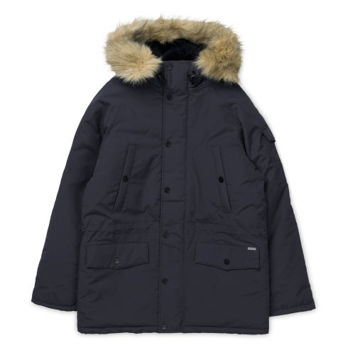 Carhartt Anchorage Parka Jacket - Dark Navy Black