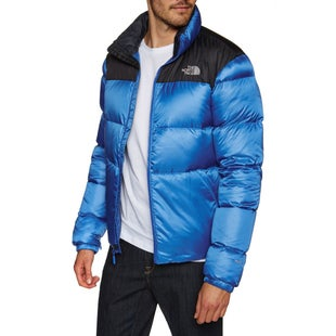North Face Nuptse III Down Jacket - Turkish Sea TNF Black