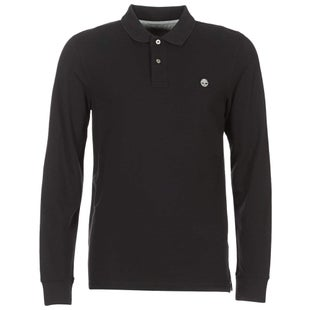 Timberland LS Millers River Polo Polo Shirt - Black