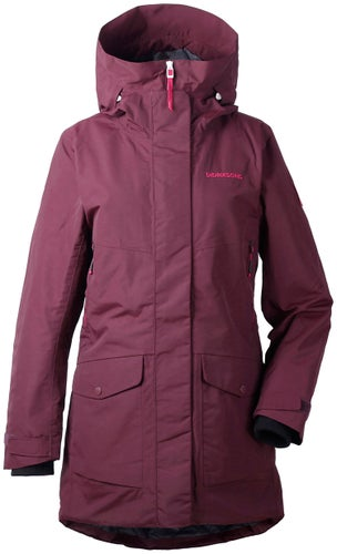 Didriksons Frida Jacket - Wine Red