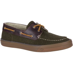 Sperry Bahama Ii Boat Wool Shoes - Olive