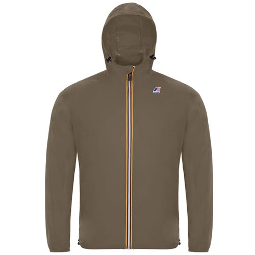 K-Way Le Vrai 3.0 Claude Jacket - Brown Lt Walnut