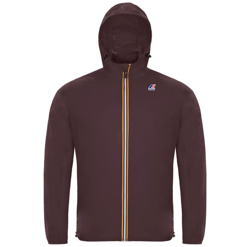 K-Way Le Vrai 3.0 Claude Jacket - Red Dk Amaranto