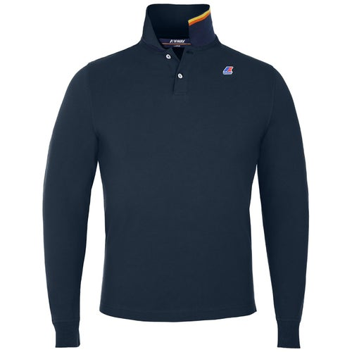 K-Way Rochel Stretch Polo Shirt - Blue Depth
