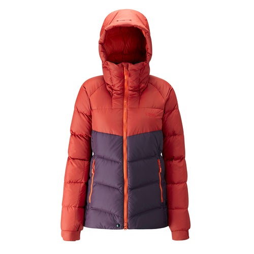 Rab Escape Asylum Jkt Wmns Down Jacket - Rust/ Eggplant