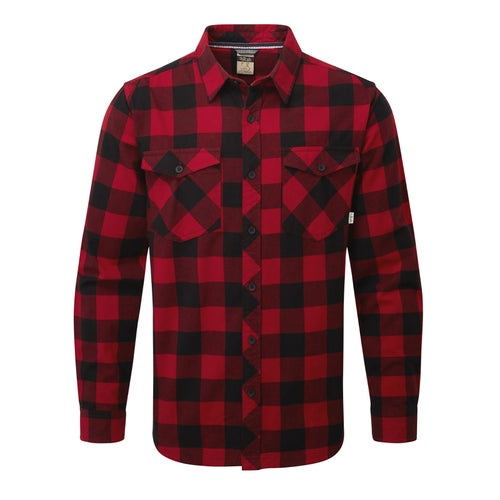 Rab Escape Boundary Shirt - Autumn Red Black