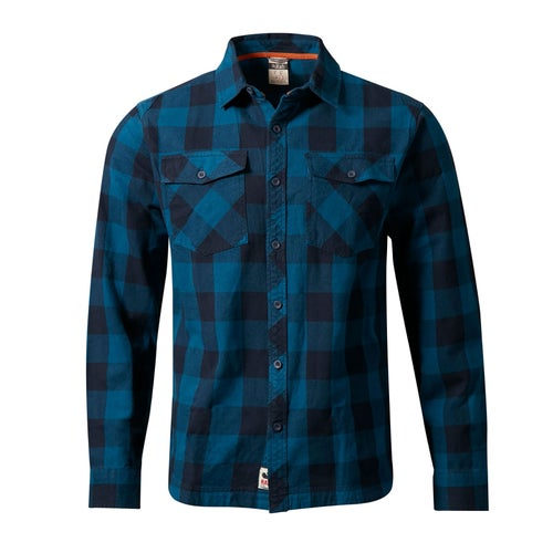 Rab Escape Boundary Shirt - Indigo Denim / Ink