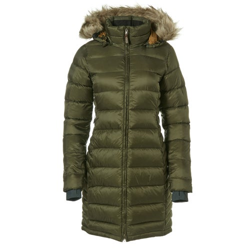 Rab Escape Deep Cover Parka Ladies Down Jacket - Army