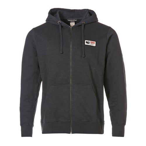 Rab Escape Journey Zip Hoody Hoody - Grey Marl