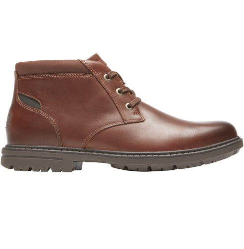 Rockport Tough Bucks Chukka Boots - Dark Tan