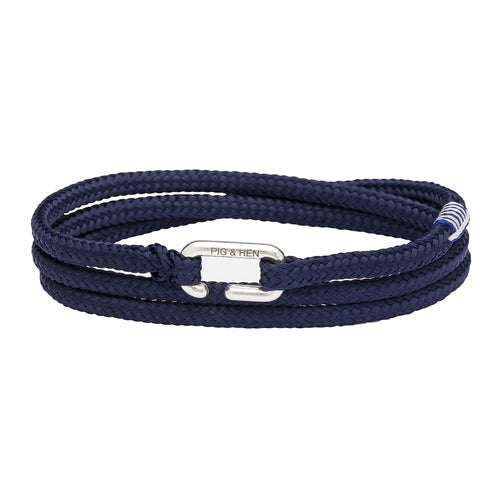 Pig and Hen Savage Sam Bracelet - Navy