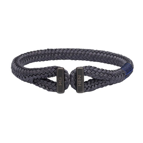 Pig and Hen Icy Ike Bracelet - Slate Gray