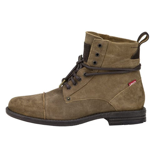 Levis Emerson Suede Boots - Medium Brown