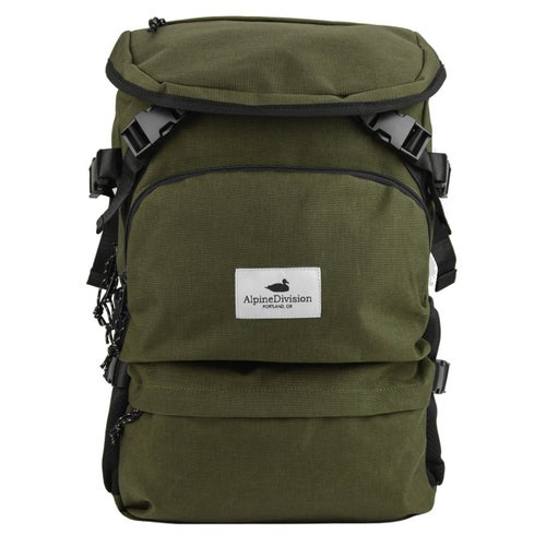 Alpine Division Timberline Backpack - Forest Green