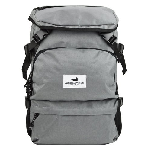 Alpine Division Timberline Backpack - Grey