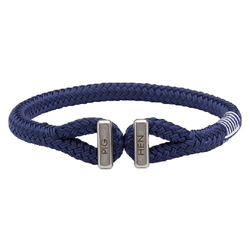 Pig and Hen Icy Ike Bracelet - Navy