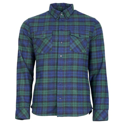 United by Blue Bridger Flannel Button Down Shirt - Dark Green