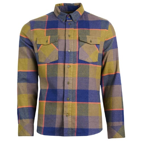 United by Blue Bridger Flannel Button Down Shirt - Olive