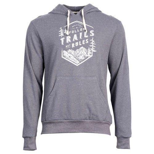 United by Blue Follow Trails Hoodie Hoody - Steel Grey