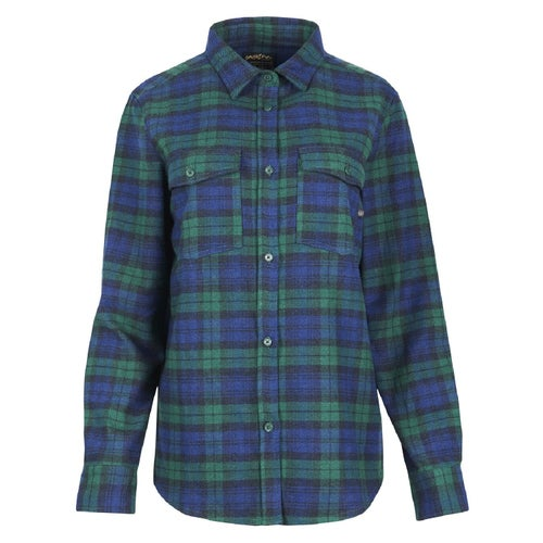 United by Blue Freemont Flannel Button Down Shirt - Dark Green