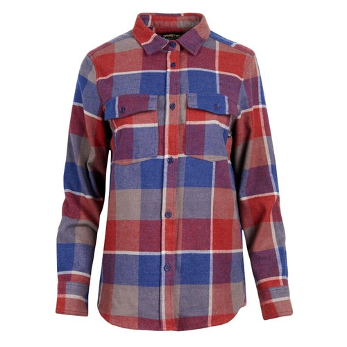 United by Blue Freemont Flannel Button Down Shirt - Red