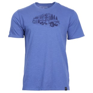 United by Blue Truck & Camper T Shirt - Blue