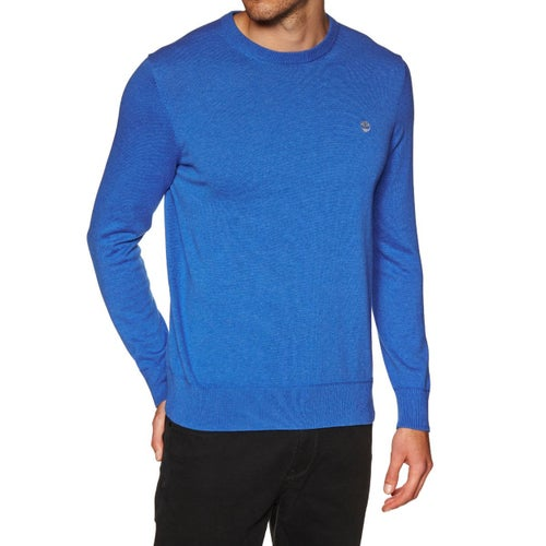 Timberland Williams River Crew Sweater - Strong Blue Heather
