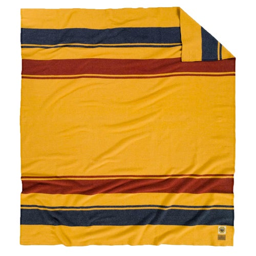 Pendleton National Park Full Bed Blanket - Yellowstone Marigold