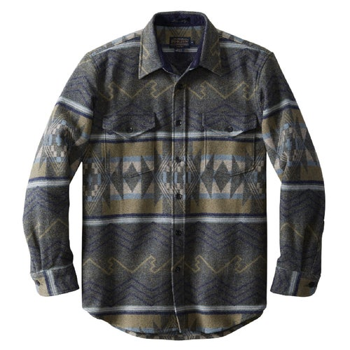 Pendleton Pine Top Shirt - Fitted Shirt - Winding River Slate