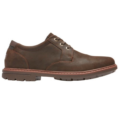 Rockport Tough Bucks Plain Toe Ox 2 Boots - Dark Bitter Chocolate
