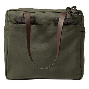 Filson Tote With Zipper 17 Luggage - Otter Green