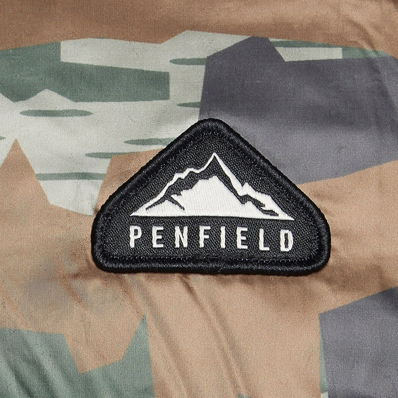 e451708f4e2f1 Penfield Equinox Camo Down Jacket available from Blackleaf