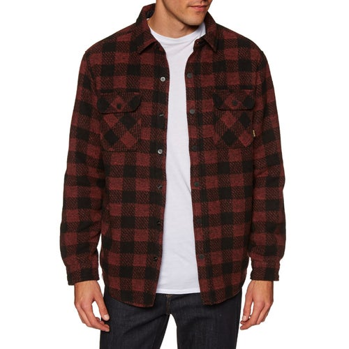 Burton Brighton Insulated Flannel Shirt - Sparrow Buffalo Plaid