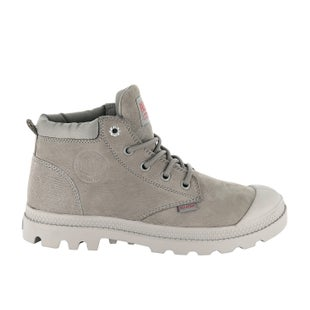 Palladium Low Cuf Lea W Boots - Moonrock