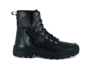 Palladium Plboss Of Lea W Boots - Black