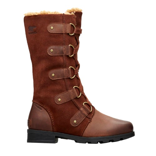 Sorel Emelie Lace Ladies Boots - Burro