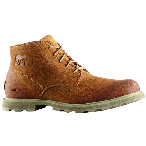 Sorel Madson Chukka Waterproof Boots - Camel Brown Pebble