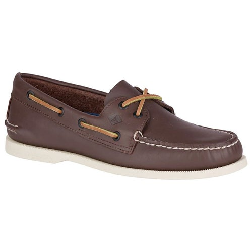 Sperry Authentic Original 2 Eye Slip On Shoes - Brown