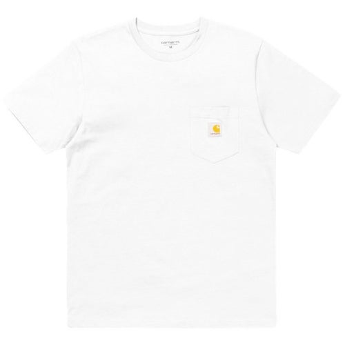Carhartt Pocket T Shirt - White