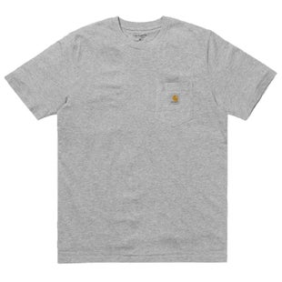 Carhartt Pocket T Shirt - Grey Heather