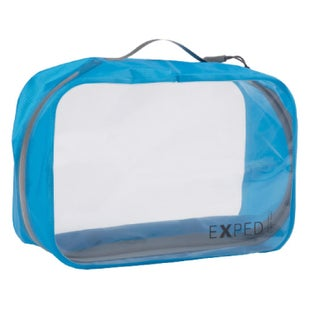 Exped Clear Cube Large Organiser - Cyan