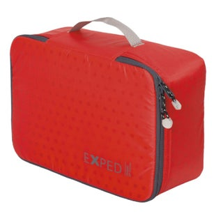 Exped Padded Zip Pouch Large Organiser - Red