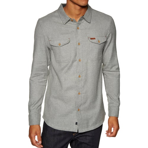 Passenger Clothing Gritter Shirt - Grey Marl
