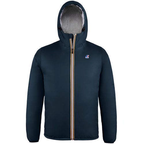 K-Way Le Vrai 3.0 Claude Orsetto Jacket - Blue Depth
