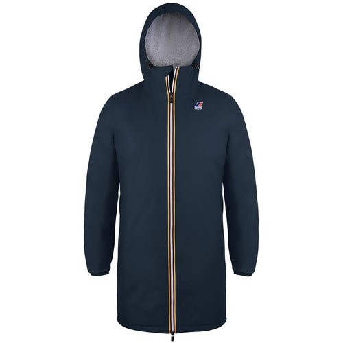 K-Way Le Vrai 3.0 Eiffel Orsetto Jacket - Blue Depth