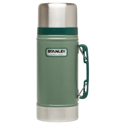 Stanley Classic 709ml Food Jar Vacuum Flask - Hammertone Green